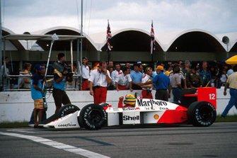 Ayrton Senna, McLaren, Ron Dennis, Mclaren Chief Executive