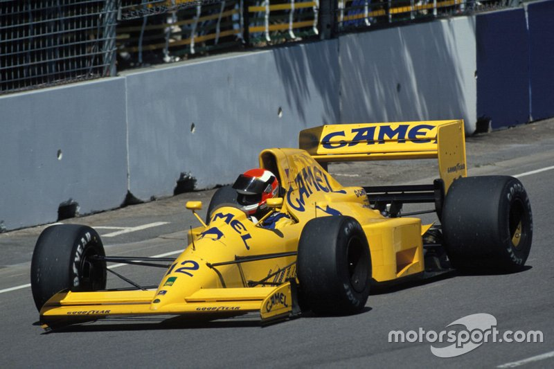 #12: Johnny Herbert (Lotus)