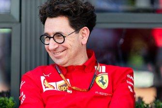 Mattia Binotto, Team Principal della Scuderia Ferrari