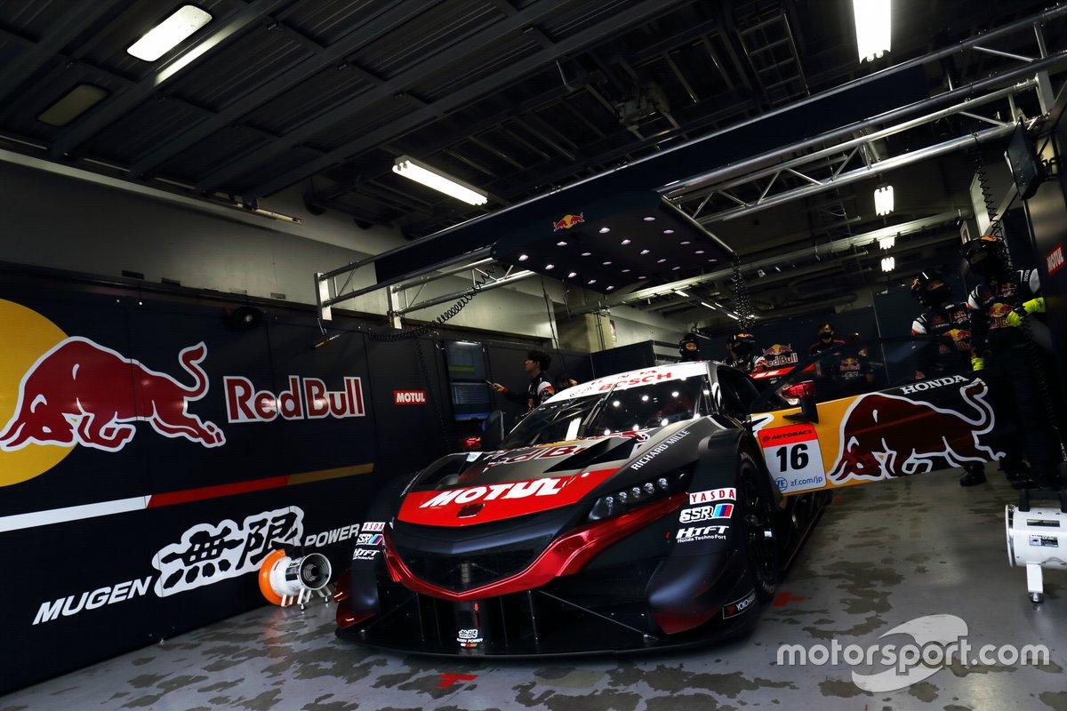 #16 RedBull MOTUL MUGEN NSX-GT