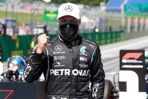 Polesitter Valtteri Bottas, Mercedes