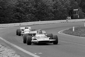 Henri Pescarolo, Matra MS120 leads team mate Jean Pierre Beltoise