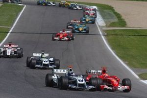Juan Pablo Montoya, Williams, Michael Schumacher, Ferrari