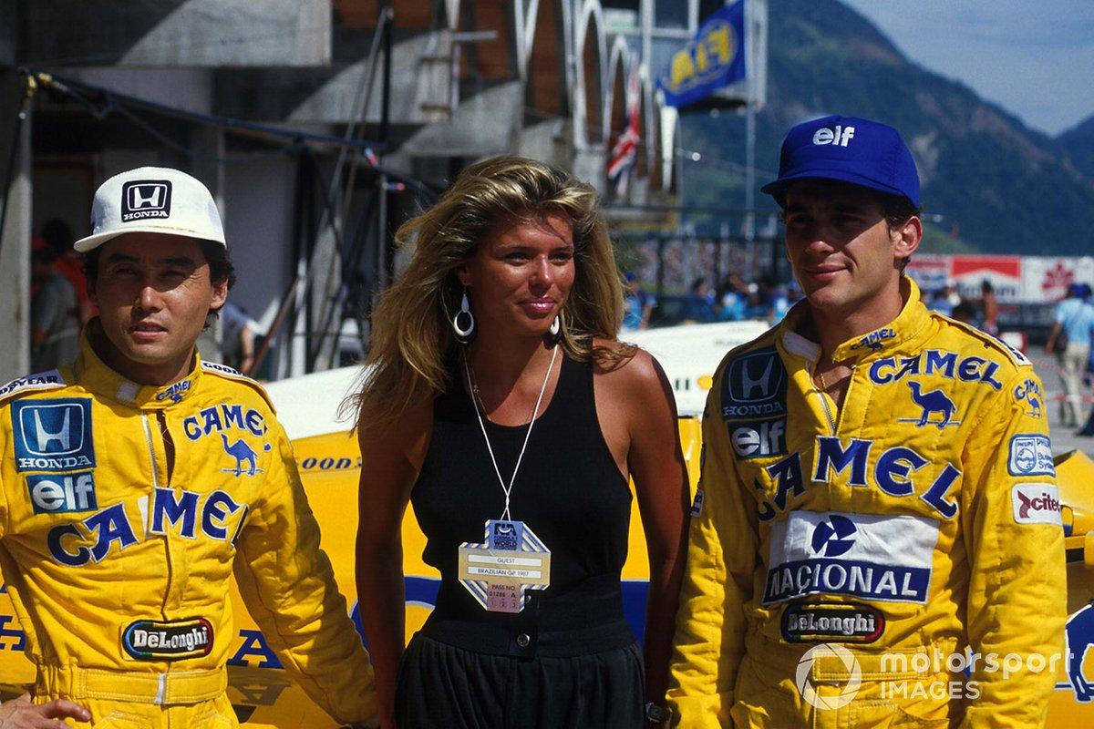 Satoru Nakajima, Lotus 99t, Ayrton Senna, Lotus 99t