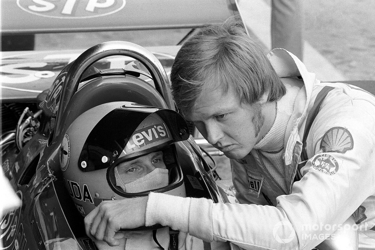 Niki Lauda, March 711, Ronnie Peterson, March 711