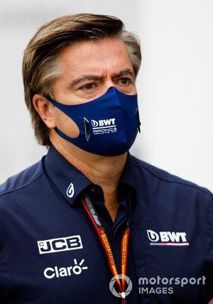 Спортивный директор Racing Point Энди Стивенсон