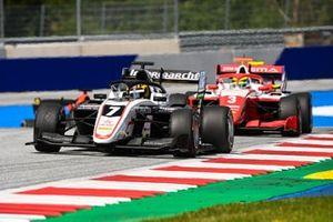 Theo Pourchaire, ART Grand Prix and Oscar Piastri, Prema Racing