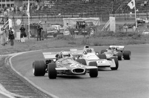 Tim Schenken, Brabham BT33, Chris Amon, Matra MS120B, Reine Wisell, Lotus 72C