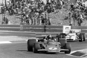 Emerson Fittipaldi, Lotus 72D Ford, Jo Siffert, BRM P160, GP di Francia del 1971