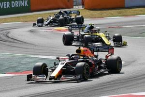 Max Verstappen, Red Bull Racing RB16, Esteban Ocon, Renault F1 Team R.S.20, Valtteri Bottas, Mercedes F1 W11 EQ Performance