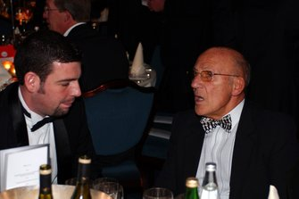 Sir Stirling Moss with David Malsher of Autosport magazine