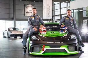 Joel Camathias, Ivan Jacoma, Porsche 918 Cayman GT4, Team Centri Porsche Ticino