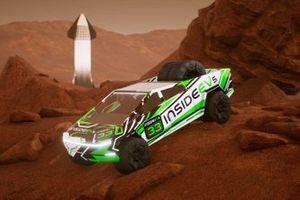 Tesla Cybertruck Racing Game Teaser