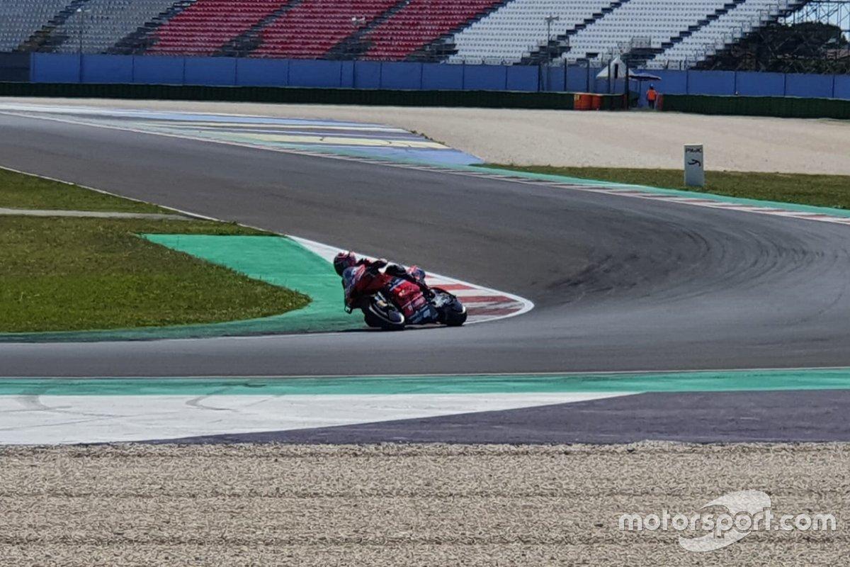 Test de MotoGP en Misano