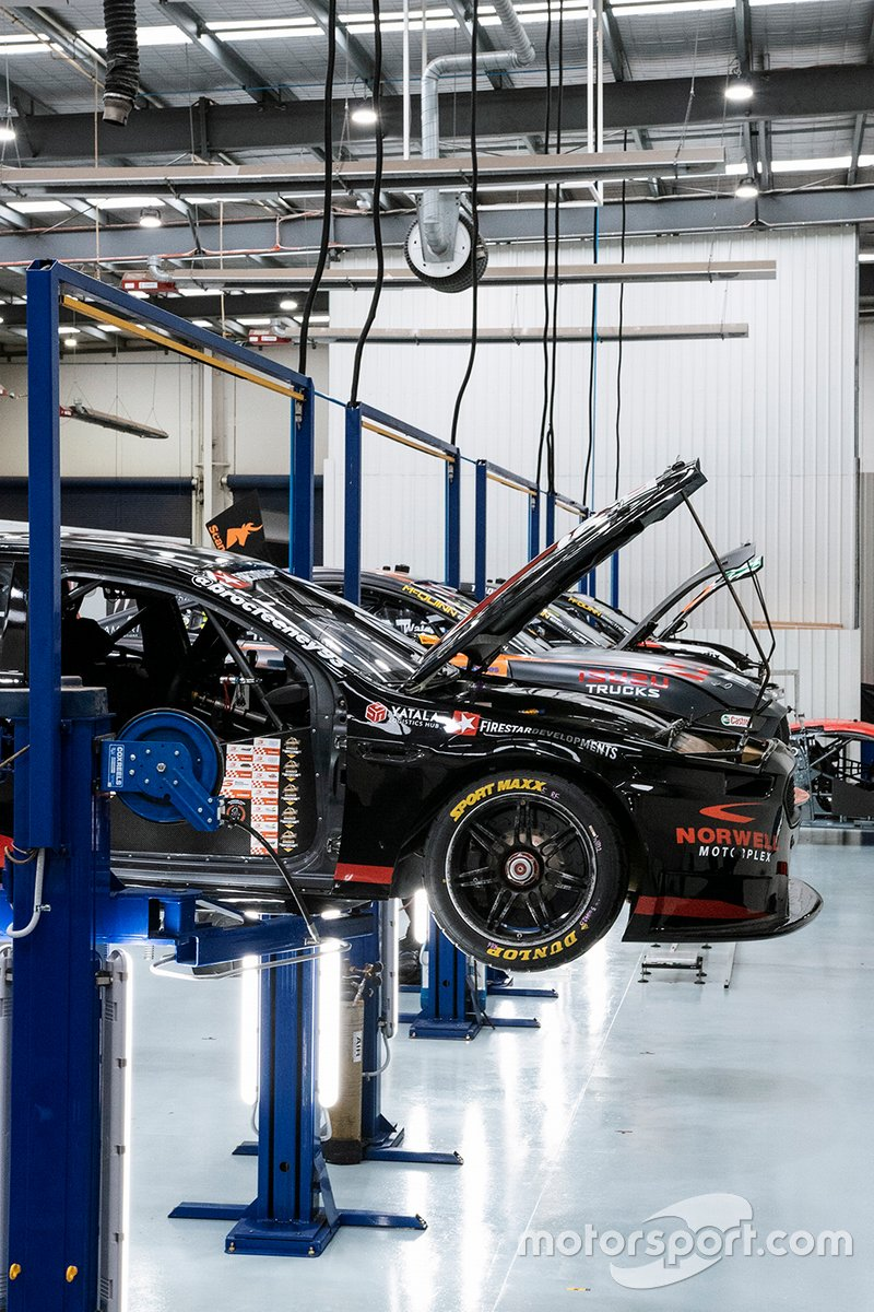 Tickford Racing's upgraded workshop