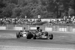 Jacky Ickx, Lotus 72E Ford, Jean-Pierre Jabouille, Tyrrell 007 Ford