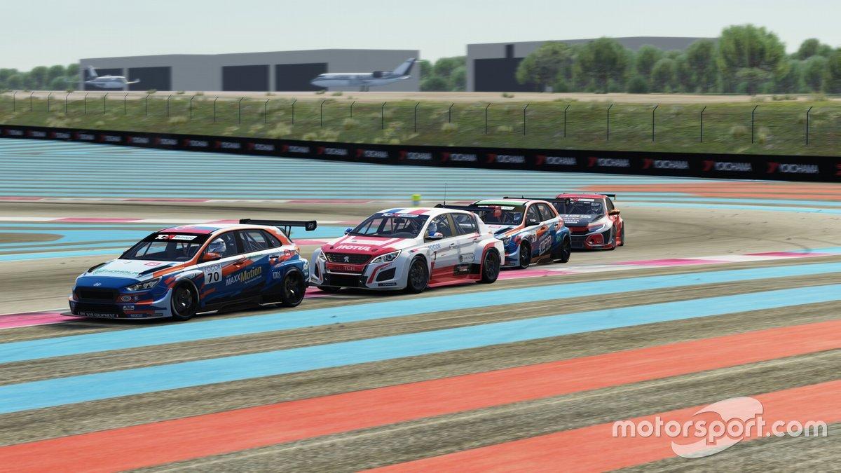 Mat'o Homola, BRC Racing Team, Hyundai i30 N TCR, Aurélien Comte, DG Sport, Peugeot 308 TCR, Daniel Nagy, BRC Racing Team, Hyundai i30 N TCR