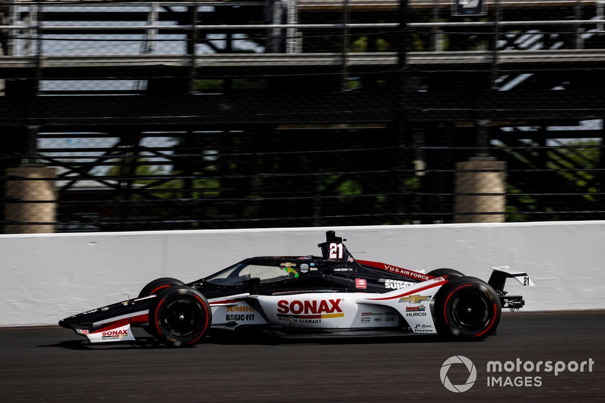 4º Rinus VeeKay, Ed Carpenter Racing - Chevrolet