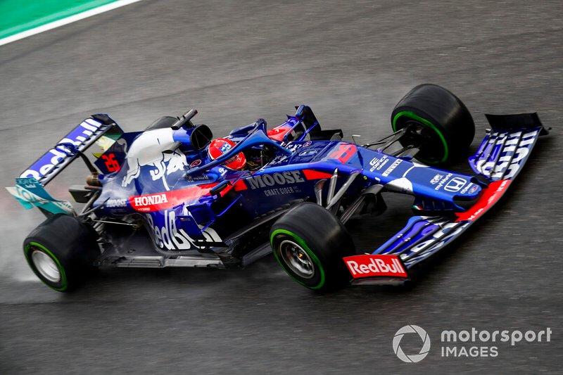 12 - Daniil Kvyat, Toro Rosso STR14 - 1'20.630