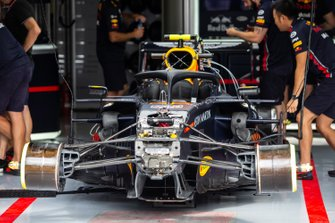 Detalle del frontal del Red Bull Racing RB15