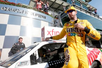 Race Winner Kyle Busch, Joe Gibbs Racing, Toyota Supra