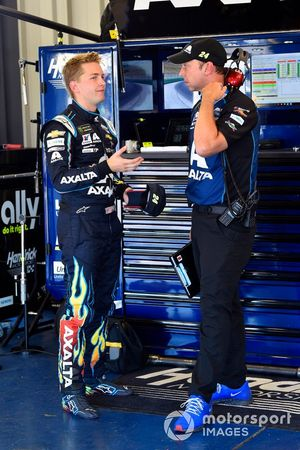William Byron, Hendrick Motorsports, Chevrolet Camaro Axalta and Chad Knaus
