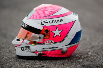 Casco tributo a Anthoine Hubert de Max Fewtrell, ART Grand Prix