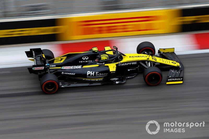 10º: Nico Hulkenberg, Renault F1 Team R.S. 19: +59.841