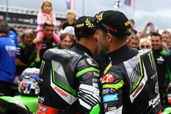Johnathan Jonathan Rea, Kawasaki Racing Team, Leon Haslam, Kawasaki Racing Team