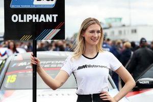 Tom Oliphant, WSR BMW grid kızı