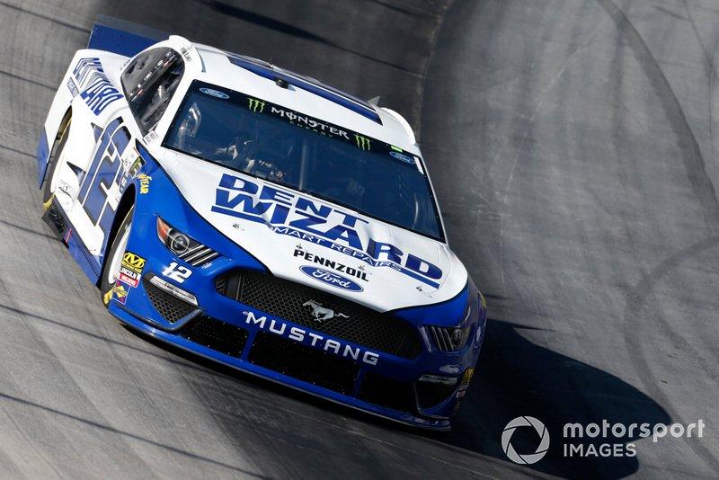 10. Ryan Blaney, Team Penske, Ford Mustang