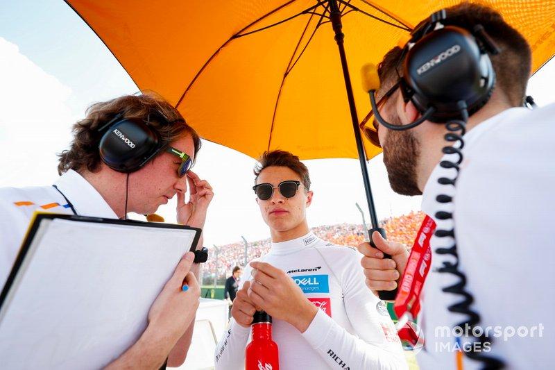 Lando Norris, McLaren: 5.