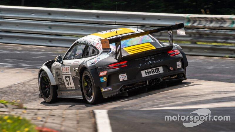 № 57 Black Falcon Racing, Porsche 991 Carrera: Александр Акименков, Ронни Летмейт, Василий Селиванов