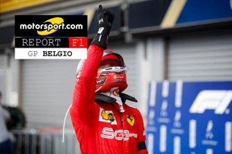 Copertina Report GP del Belgio