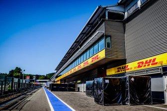 Atmosfera nella Pitlane al GP del Belgio