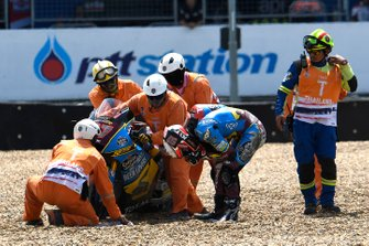 Xavi Vierge, Marc VDS Racing crash