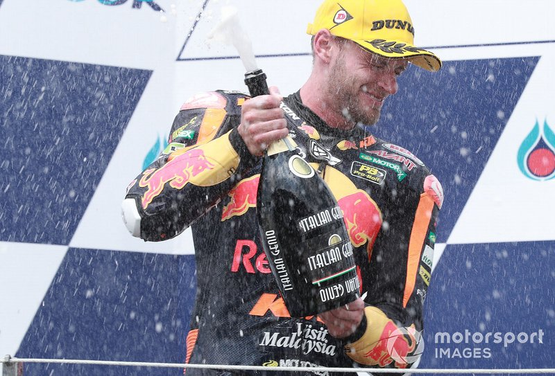 Second place Brad Binder, KTM Ajo