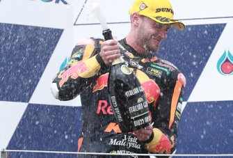 Secondo classifiocato Brad Binder, KTM Ajo