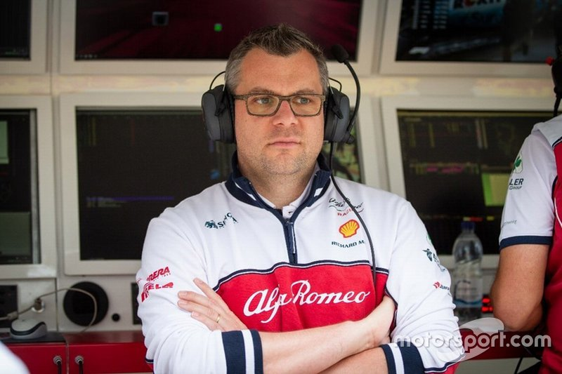 Jan Monchaux, jefe de aerodinámica de Alfa Romeo Racing