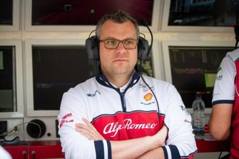 Jan Monchaux, directeur technique, Alfa Romeo Racing