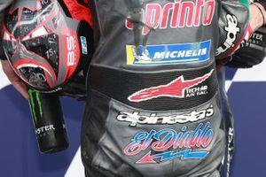 Il poleman Fabio Quartararo, Petronas Yamaha SRT