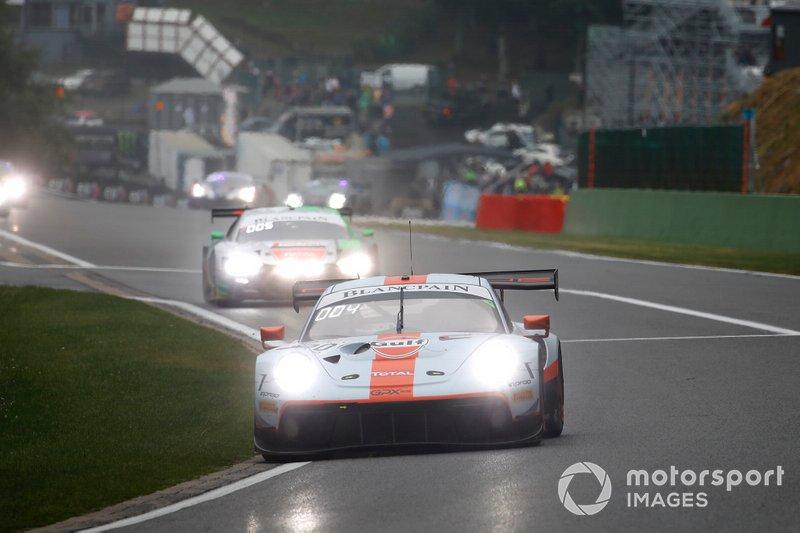 Кевин Эстре, Микаэль Кристенсен и Рихард Лиц, GPX Racing, Porsche 911 GT3 R (№20)