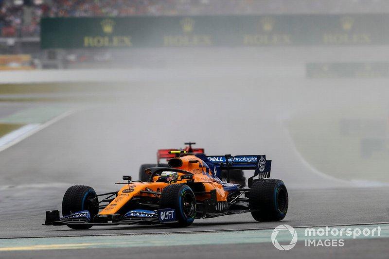 Lando Norris, McLaren MCL34 (não terminou)
