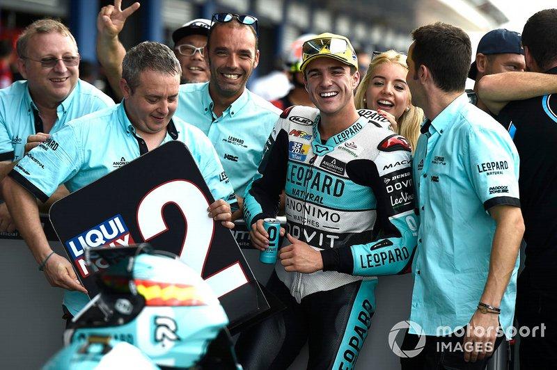 Second place Marcos Ramirez, Leopard Racing