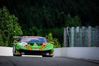 #19 GRT Grasser Racing Team Lamborghini Huracan GT3 2019: Arno Santamato, Gerhard Tweraser, Lucas Mauron
