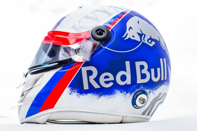 Casco di Daniil Kvyat, Toro Rosso