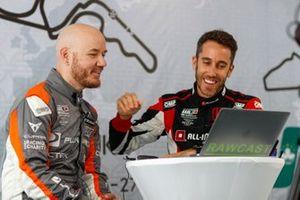 Даниэль Хаглёф, PWR Racing, и Эстебан Герьери, ALL-INKL.COM Münnich Motorsport