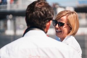 Susie Wolff, Team Principal, Venturi Formula E on the grid