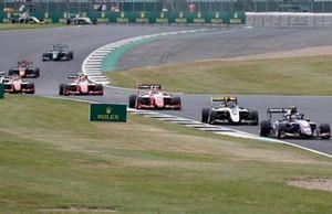 Pedro Piquet, Trident, Christian Lundgaard, ART Grand Prix, Robert Shwartzman, PREMA Racing, Jehan Daruvala, PREMA Racing, Marcus Armstrong, PREMA Racing