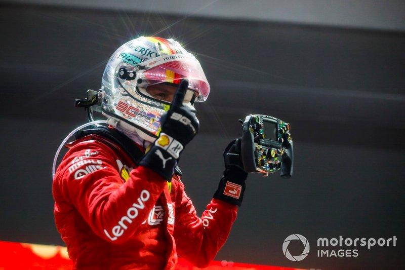 2019 Sebastian Vettel, Ferrari